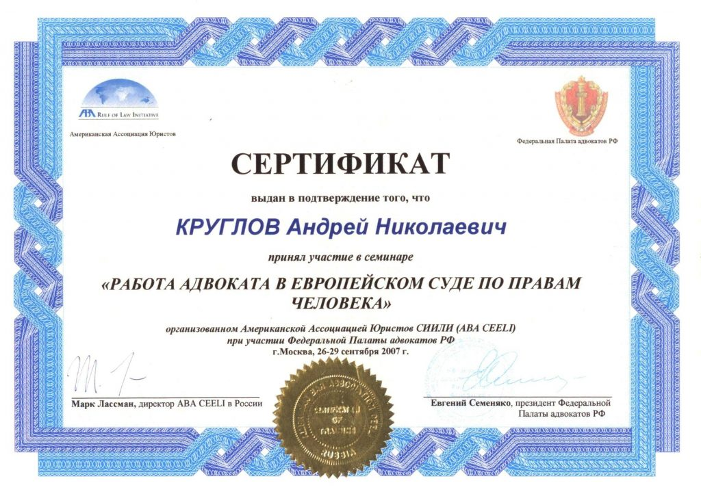 сертификат Круглов А.Н. (3)